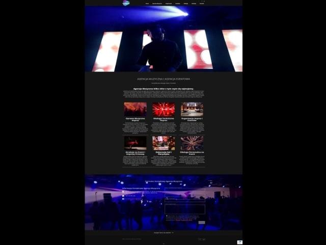 Tworzenie Stron Internetowych Portfolio Strony Internetowe Eventowa Agencja Muzyczna Dj Matson